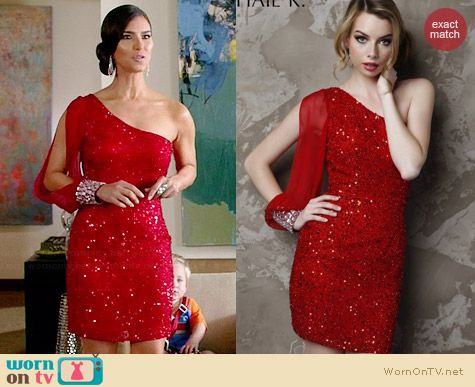 Shail K KL3203 Dress worn by Roselyn Sanchez on Devious Maids