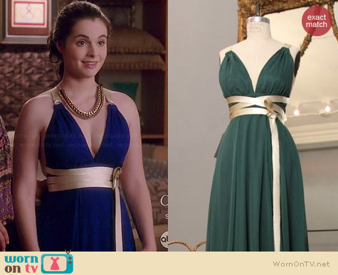 Shareen Alexa Gown worn by Vanessa Marano on Switched at Birth