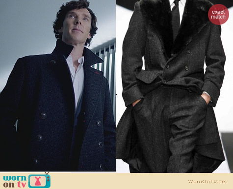 Sherlock Fashion: Belstaff Millford Coat worn by Benedict Cumberbatch