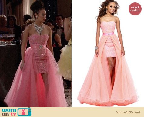 Sherri Hill 21165 Dress worn by Chloe Bridges on The Carrie Diaries