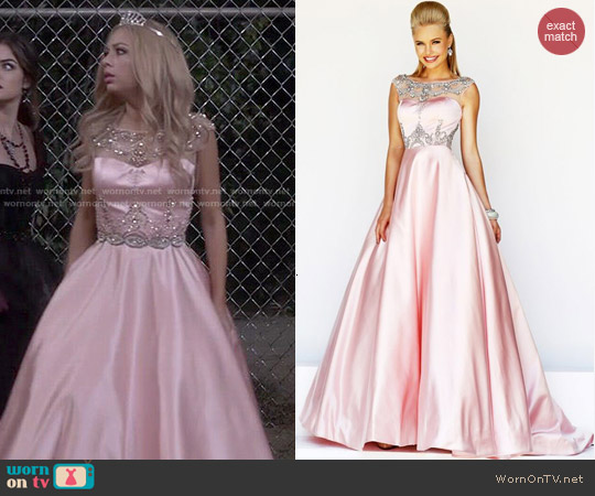 Sherri Hill Dress 21248 worn by Janel Parrish on PLL
