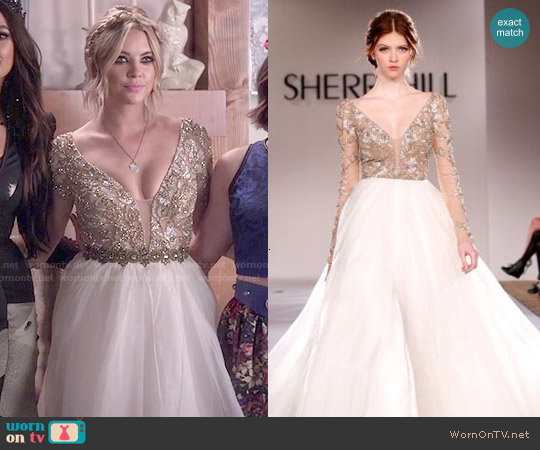 Sherri Hill Fall 2015 Collection Gown worn by Ashley Benson on PLL