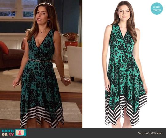 Shoshanna Emmy Dress in Jade worn by Ana Ortiz on Devious Maids