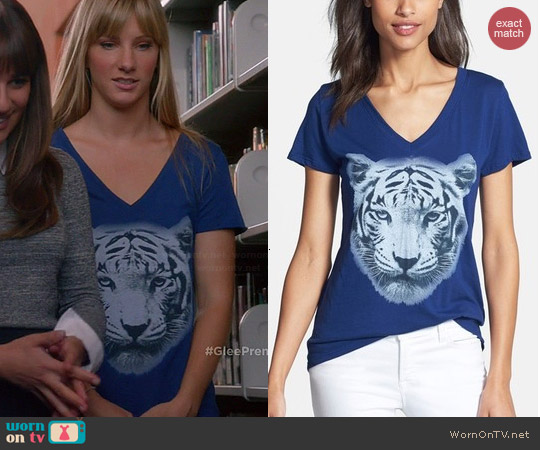 Signorelli Tiger Tee worn by Brittany Pierce on Glee