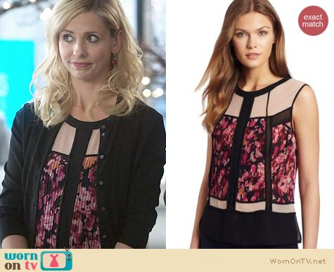 SMG Fashion: BCBG Max Azria Codie Top worn on The Crazy Ones