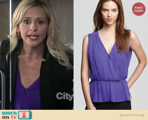 SMG Fashion: Parker Pearl Top worn on The Crazy Ones
