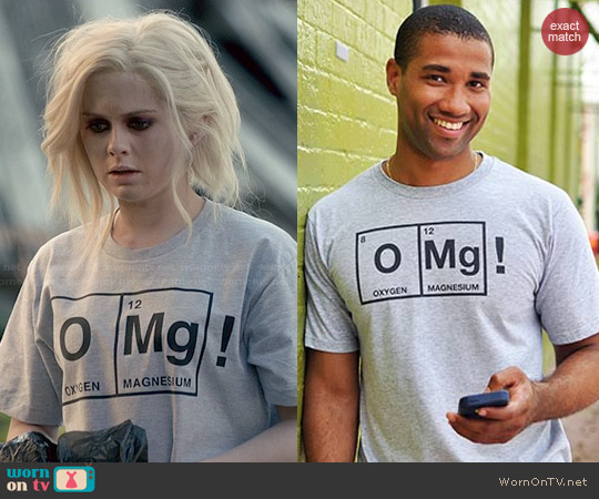 Snorg Tees OMg! T-shirt worn by Rose McIver on iZombie