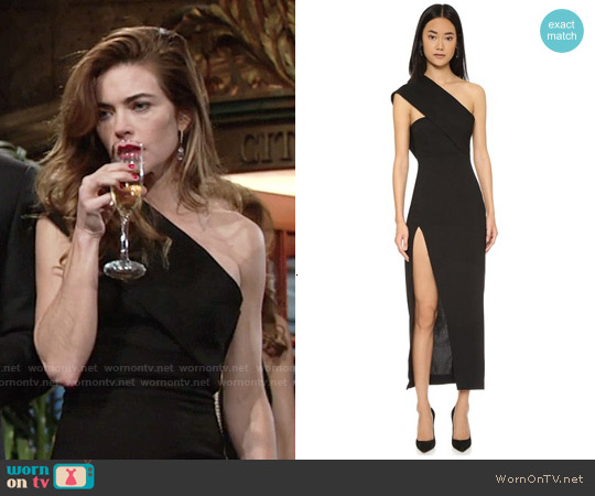 Solace London Dunaway Maxi Dress worn by Amelia Heinle on The Young & the Restless