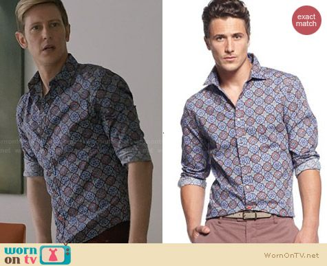 Sons of Intrigue Crusader Shirt worn by Gabriel Mann on Revenge