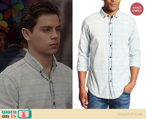 Sovereign Code Laguna Shirt worn by Jake Austin on The Fosters