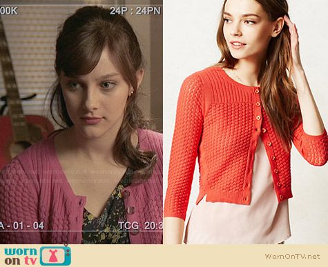 Sparrow Midi Pointelle Cardigan worn by Aubrey Peeples on Nashville