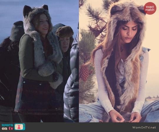 Spirit Hoods Grey Wolf Hat worn by Chelsea Peretti on Brooklyn 99