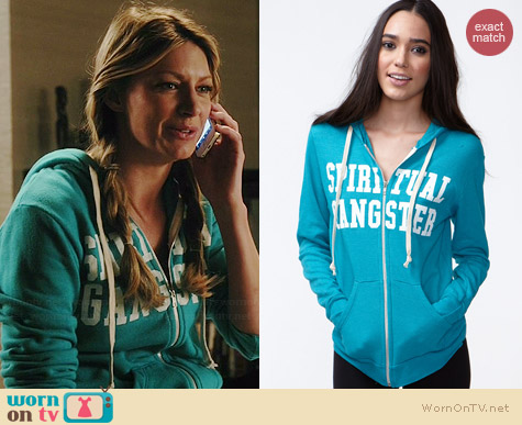 Spiritual Gangster Hoodie worn by Jess Macallan on Mistresses
