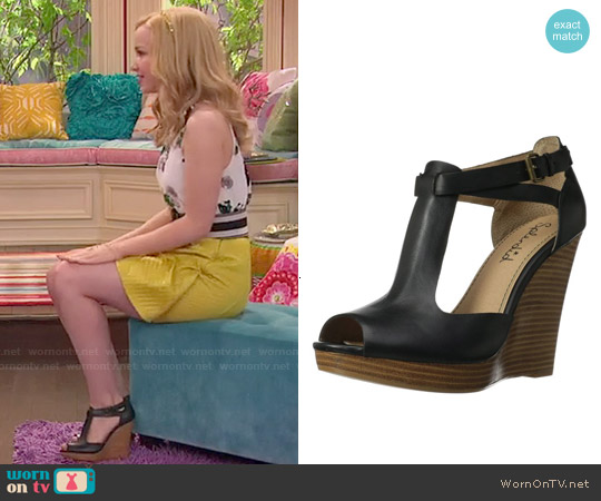 Splendid Backbay Wedge Sandals worn by Liv Rooney on Liv & Maddie