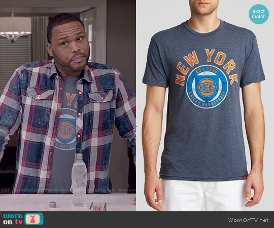 Sportiqe NY Knicks Tee worn by Anthony Anderson on Blackish
