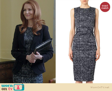 Sportmax Chantal Dress worn by Darby Stanchfield on Scandal