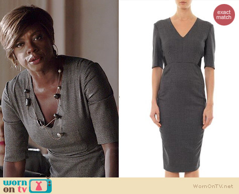 Sportmax Dancing Dress worn by Viola Davis on HTGAWM