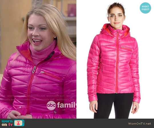 Spyder Timeless Hoody worn by Melissa Joan Hart on Melissa & Joey