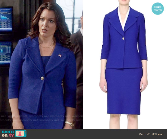 St John Collection Newport Jacket worn by Bellamy Young on Scandal