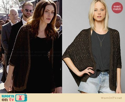 Staring at Stars Ava Cardigan worn by Phoebe Tonkin on The Originals