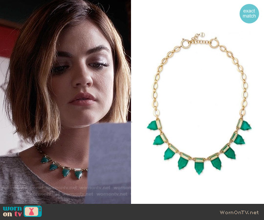 Stella & Dot Eye Candy Necklace worn by Lucy Hale on PLL