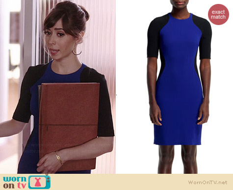 Stella McCartney Anita Contour Colorblock Dress worn by Cristin Milioti on A to Z