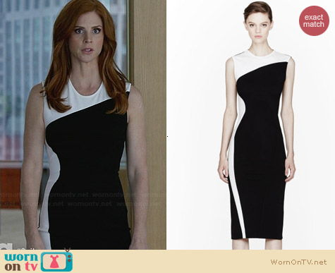 Stella McCartney Compact Jersey Dress worn by Sarah Rafferty on Suits