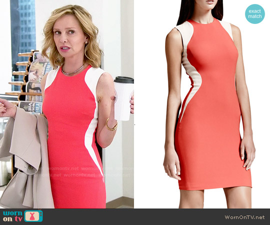 worn by Cat Grant (Calista Flockhart) on Supergirl