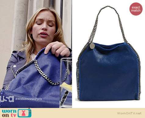 Stella McCartney Falabella Tote worn by Piper Perabo on Covert Affairs