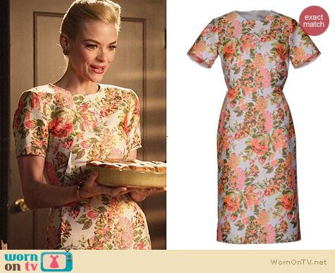 Stella McCartney Floral Knee Length Dress worn by Jaime King on Hart of Dixie