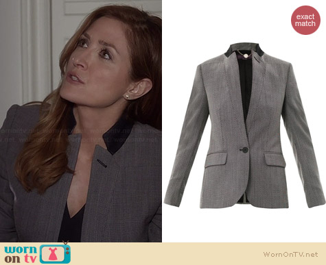 Stella McCartney Floris Jacket worn by Sasha Alexander on Rizzoli & Isles