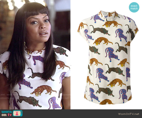 Stella McCartney Molly Top worn by Taraji P. Henson on Empire