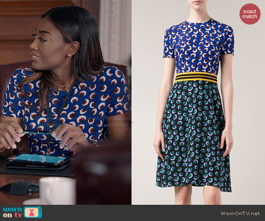 Stella McCartney Petra Dress worn by Patina Miller on Madam Secretary