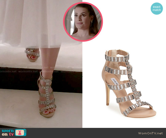Steve Madden Famme Sandals worn by Lea Michele on Scream Queens