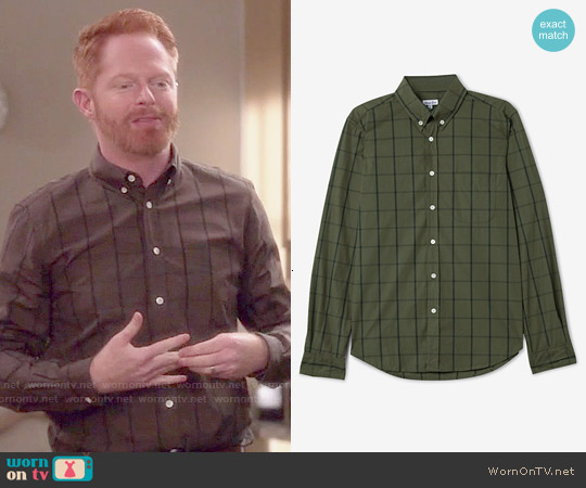 Steven Alan Collegiate Shirt worn by Jesse Tyler Ferguson on Modern Family