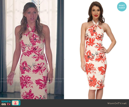 Stop Staring Acacia Dress worn by Jes Macallan on Mistresses