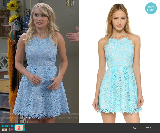 Stylestalker Viper Circle Dress worn by Emily Osment on Young & Hungry