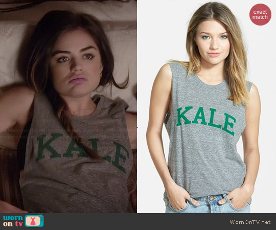 Sub_Urban Riot Kale Tank worn by Lucy Hale on PLL