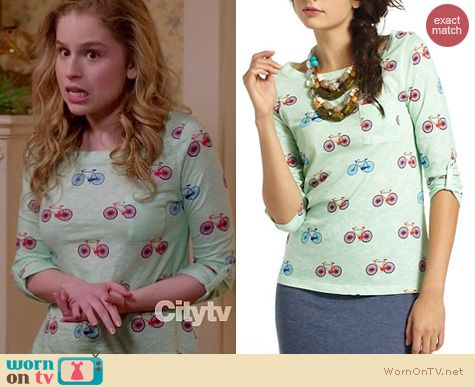 Suburgatory Fashion: Anthropologie Banter tee worn by Allie Grant