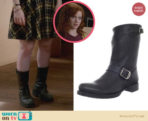 Fashion of Suburgatory: Frye Veronica Short Boot worn by Jane Levy