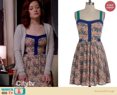 Suburgatory Fashion: ModCloth Pioneer and Dear Dress worn by Jane Levy