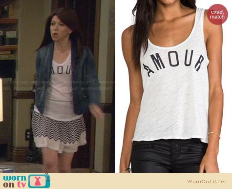 Sundry Armour Tank worn by Alyson Hannigan on HIMYM
