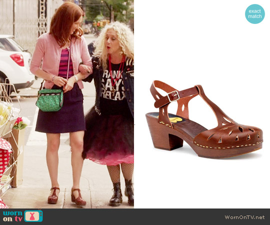 Swedish Hasbeens Lacy Sandal worn by Ellie Kemper on Unbreakable Kimmy Schmidt