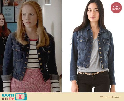 Switched at Birth Fashion: Current Elliott The Snap Jacket worn by Katie Leclerc