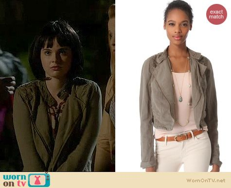 Switched at Birth Fashion: Free People Cutwork jacket worn by Vanessa Marano