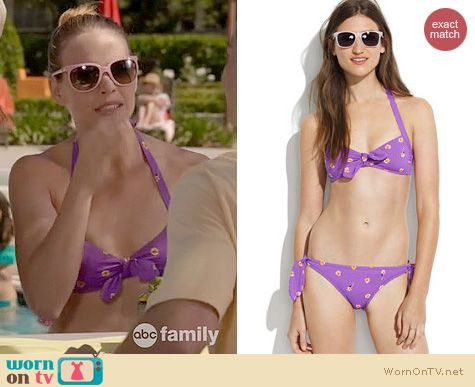 Wornontv Daphne S Purple Bikini On Switched At Birth