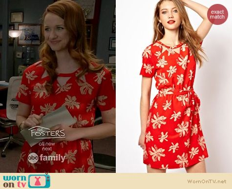Switched at Birth Fashion: Viva Vena Chamberlan cutout dress worn by Laura Spencer
