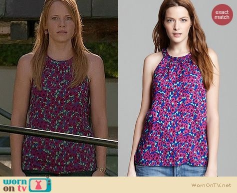Switched at Birth Style: Splendid Watercolor tank worn by Katie Leclerc