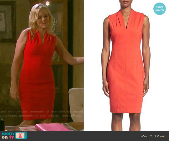 T Tahari Tonya Dress worn by Martha Madison on Days of our Lives