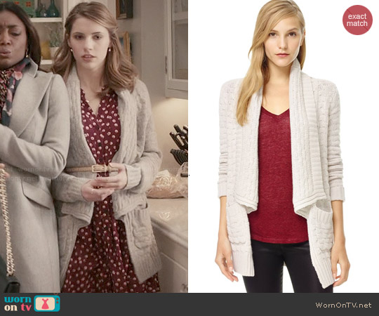 Talula Greenpoint Sweater in Heather Oak worn by Stephanie 'Stevie' McCord on Madam Secretary